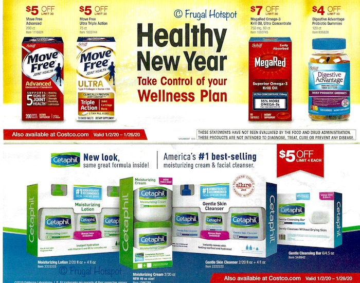 Costco JANUARY 2020 Coupon Book 3
