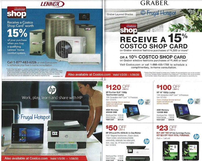 Costco JANUARY 2020 Coupon Book 4