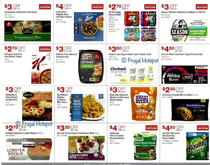 Costco JANUARY 2020 Coupon Book 8