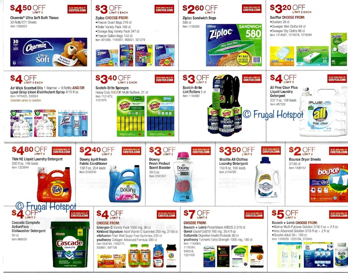 Costco JANUARY 2020 Coupon Book 9