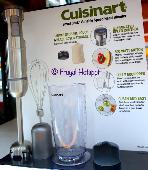 Cuisinart Smart Stick Variable Speed Hand Blender Costco Display