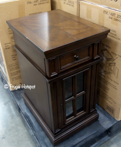 Dudley Chairside Table Costco Display