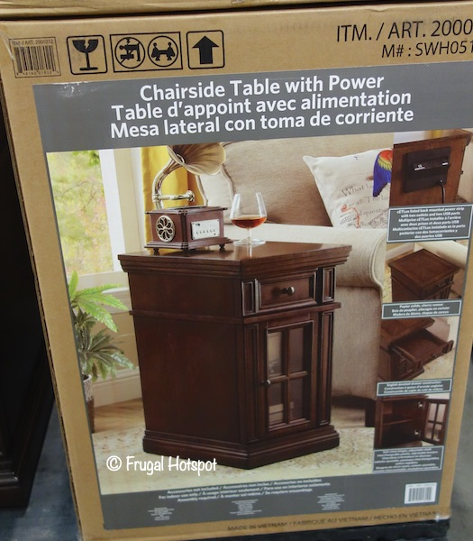 Dudley Chairside Table Costco