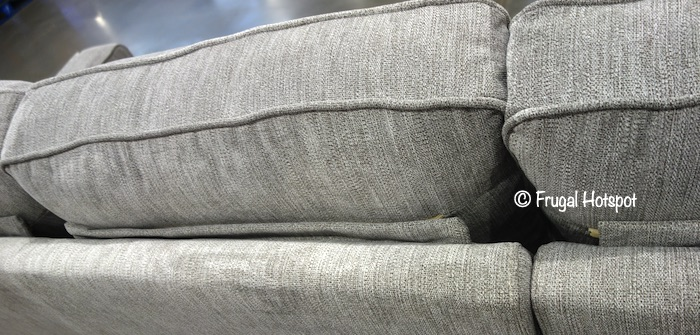 Ellendale Fabric Sectional Costco Display