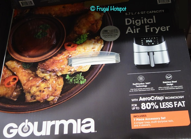 Gourmia Digital Air Fryer 6-Quart Costco