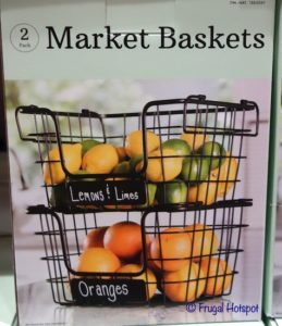 Market Baskets 2-Pack Costco