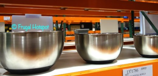 Miu Stainless Steel Mixing Bowls Costco Display
