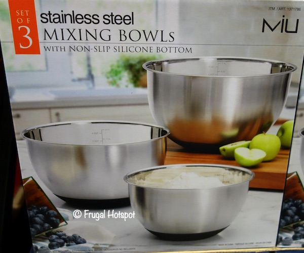 Miu Stainless Steel Mixing Bowls Costco