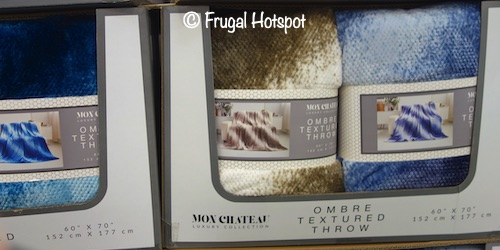 Mon Chateau Honeycomb Ombre Throw Costco