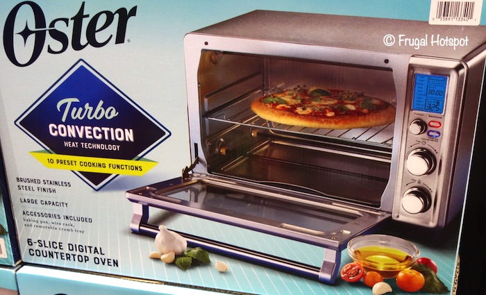 Oster Digital Countertop Convection Oven Costco