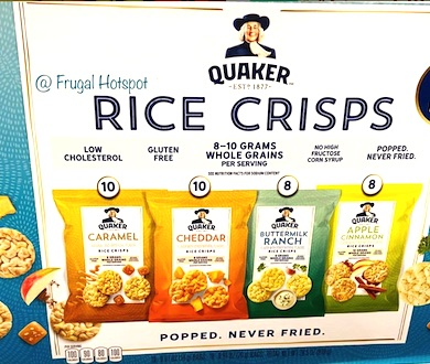 Quaker Rice Crisps 36 Count Costco