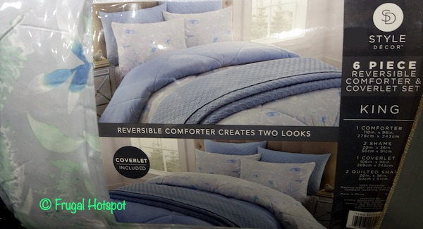Style Decor 6-Pc Polyester Comforter Set Costco