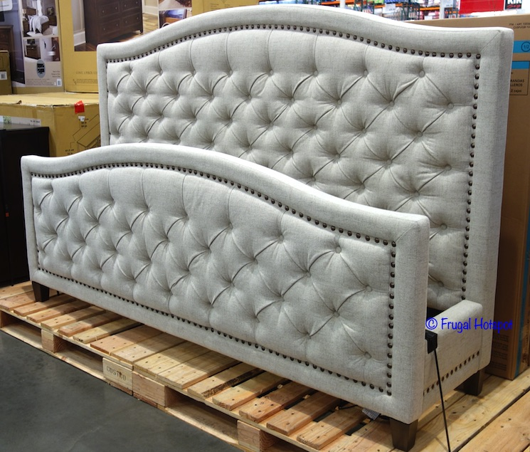 Thomasville Upholstered Bed Costco Display