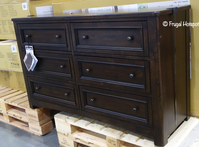 Universal Broadmoore Brooklyn Dresser Costco Display