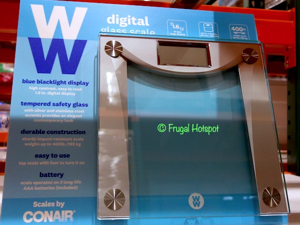 Weight Watchers Digital Glass Scale Costco Display