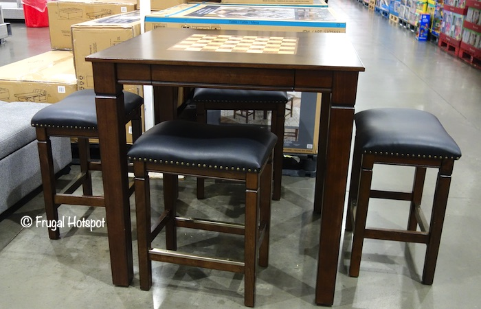 Well Universal 5-Piece Game Table Set Costco Display