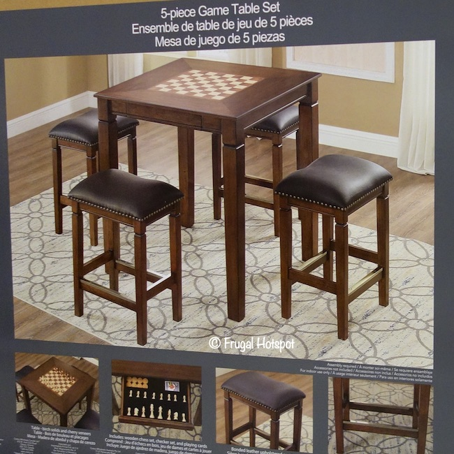 Well Universal Game Table Set Costco Frugalhotspot