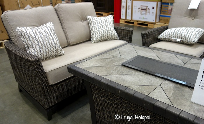 Agio Springdale 5-Piece Fire Chat Set Costco Display
