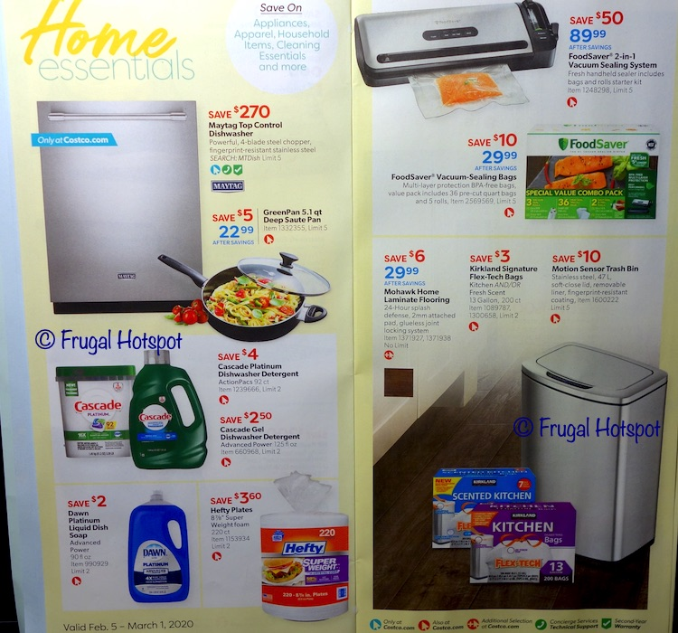 Costco February 2020 Coupon Book Page 4