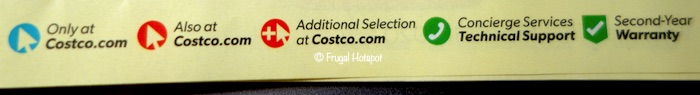 Costco February 2020 Coupon Book Symbols
