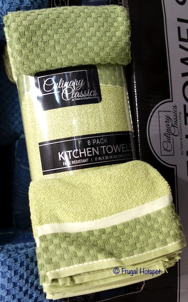 Culinary Classics Kitchen Towel Set 8-Pack Costco