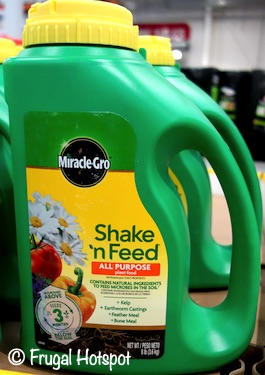 Miracle Gro Shake-n-Feed All Purpose Fertilizer 8 lbs Costco