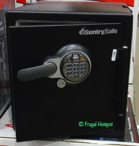 Sentry Safe Biometric Fire Safe Costco Display