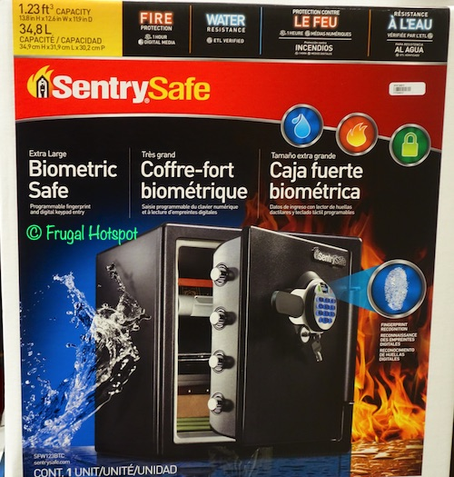 Sentry Safe Biometric Fire Safe Costco