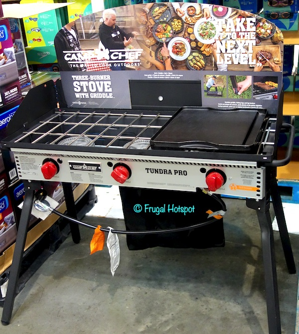 Camp Chef Tundra Pro 3-Burner Stove Costco Display
