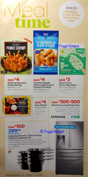 Costco Coupon Book MARCH 2020 P1