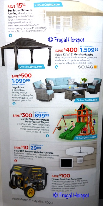Costco Coupon Book MARCH 2020 P11