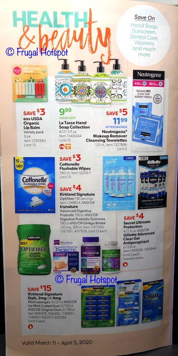 Costco Coupon Book MARCH 2020 P21
