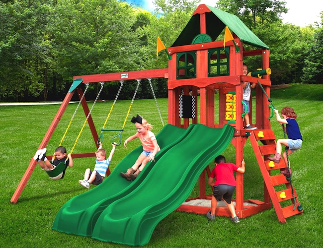 Gorilla Playsets Playmaker Deluxe Playset Costco