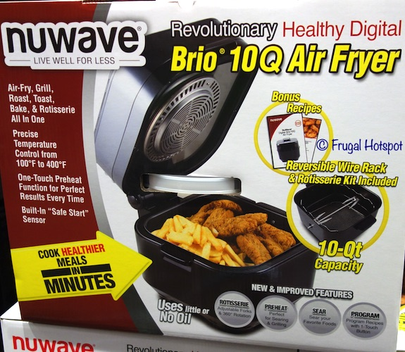 NuWave Brio 10-Quart Digital Air Fryer Costco