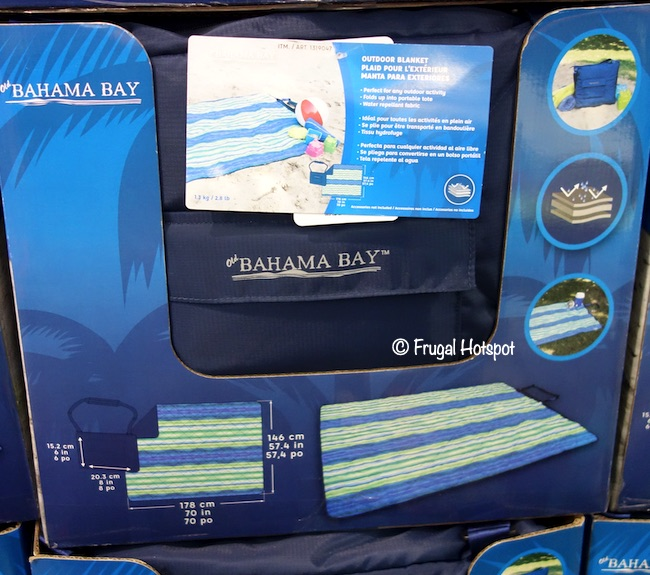 Old Bahama Bay Outdoor Blanket Costco