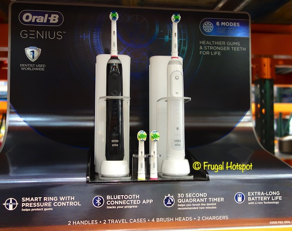 Oral B Genius Rechargeable Toothbrush Costco Display