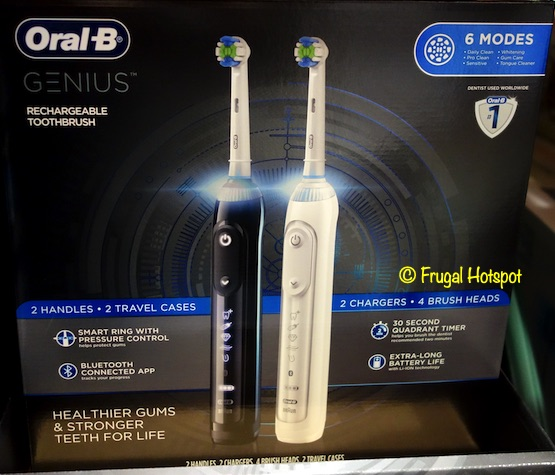 Oral B Genius Rechargeable Toothbrush Costco