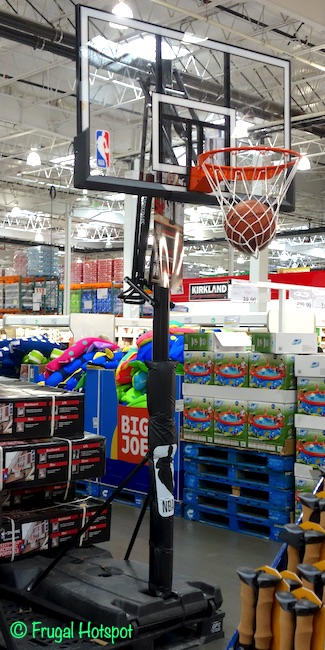 Spalding 54 Portable Basketball Hoop System Costco Display