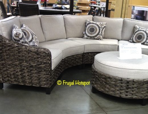 Vigo 5-piece Woven Sectional Costco Display