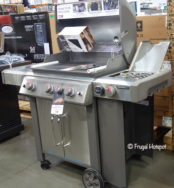 Weber Genesis II S-345 Gas Grill Costco Display