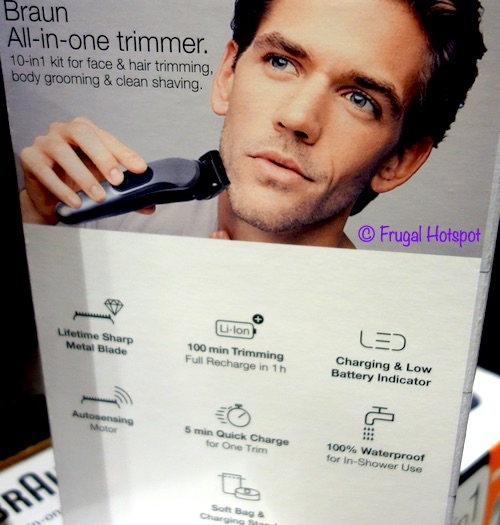 Braun All-in-One Trimmer 7 Costco