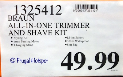 Braun All-in-One Trimmer 7 Costco Price