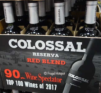 Colossal Reserva Red Blend Portugal 750ml Costco