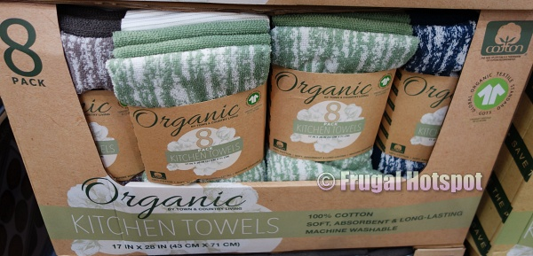 Costco Display   Town & Country Organic Kitchen Towels