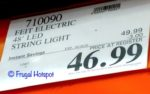 Feit Electric 48 Ft LED String Lights Costco Sale Price