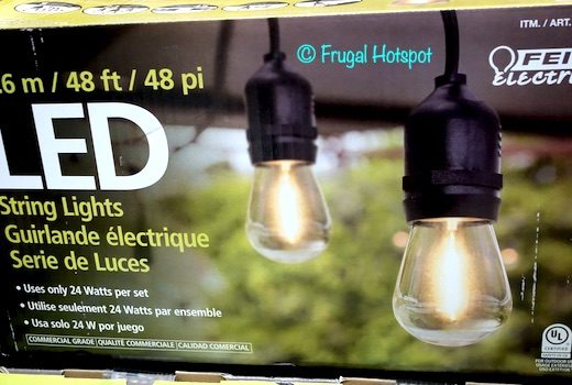Feit Electric 48 Ft. LED String Lights Costco