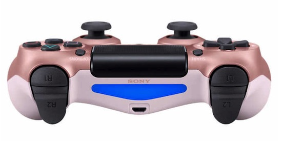 PS4 Rose Gold Controller Costco