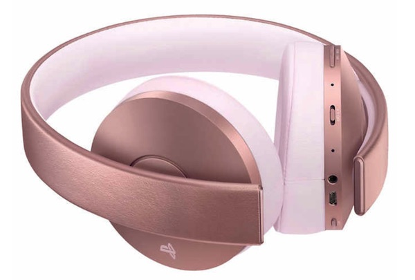PS4 Rose Gold Headset Costco