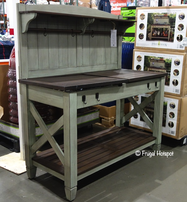 Pike & Main Americana Potting Bench Costco Display