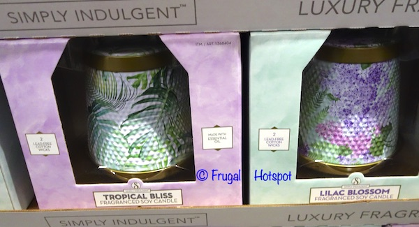 imply Indulgent Fragranced Soy Candle Costco